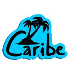 Caribe symbol vector