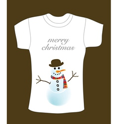 Christmas t-shirt deisgn vector image vector image