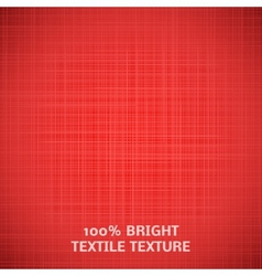 Red fabric texture for your elegant design vector