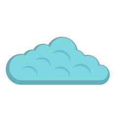 Sky cloud icon isolated vector
