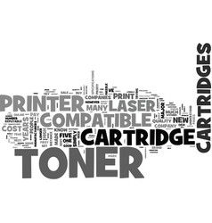 Why most people pay double for laser toner vector