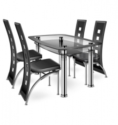 Table amp chairs vector