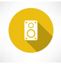 Speaker icon vector