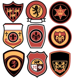 Classic emblem badge design vector