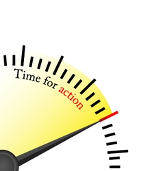 Time for action - speedmetter vector