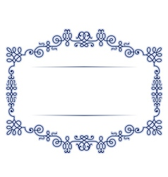 antique vintage lace background frame vector image