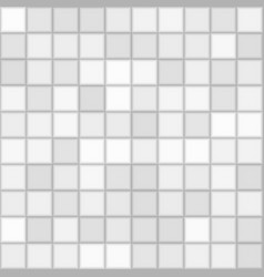 Color grey mosaic tile square background vector