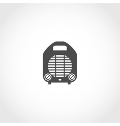 Heater icon vector image