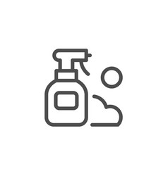 spray line icon vector image
