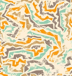 Ancient seamless pattern with grunge effect vector