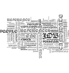 background check resources text word cloud concept vector image vector image