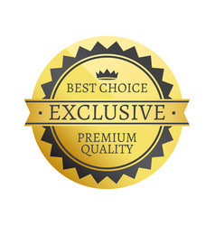 best choice exclusive premium vector image vector image