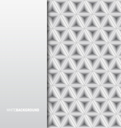 White Minimalistic Background vector image vector image