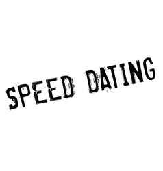 Speed dating rubber stamp vector