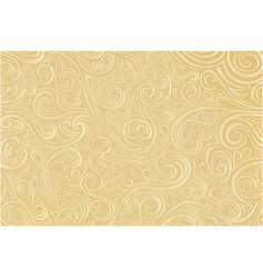 tan scroll work vector image