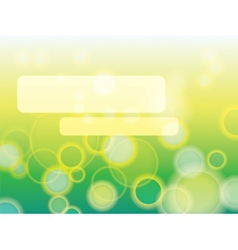Abstract green background in EPS-10 vector image vector image