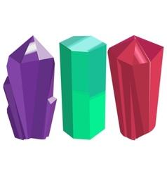 Crystals vector