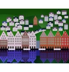 Oslo vector image