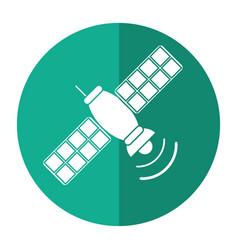satellite telecommunication transmitter signal vector image