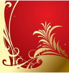 classic background vector image