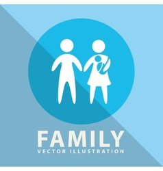 family label design vector image vector image