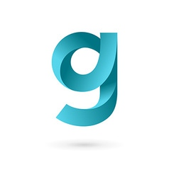 Letter G logo icon design template elements vector image vector image