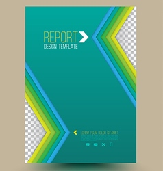 Modern abstract brochure Book cover vector image