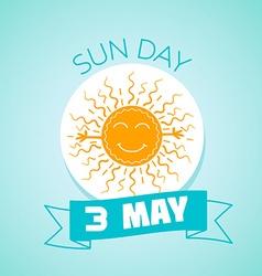 3 may San day vector image vector image