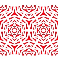 Abstract red rose pattern vector