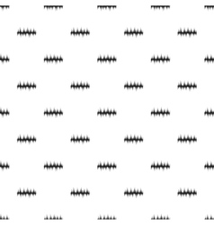 Audio equalizer technology pattern simple style vector
