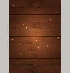 mystic bright light on wooden background vector image