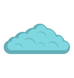 Wet cloud icon isolated vector