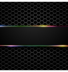 Hi-tech metallic background vector