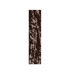 Bark letter i vector