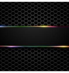 Hi-tech metallic background vector