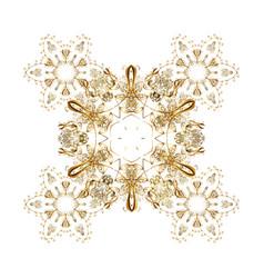 Symbol of celebration for christmas design white vector