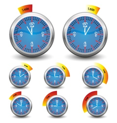 clock - time remaining vector image