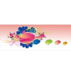 Decorative background vector
