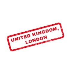 United kingdom london rubber stamp vector