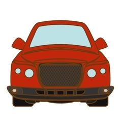Car vehicle icon vector