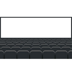 Rows of cinema vector