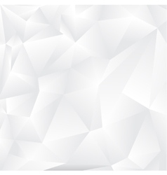 Background with white triangles vector