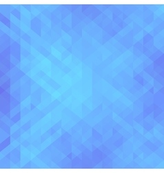 Beautiful blue background with triangle geometric vector