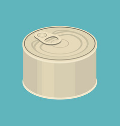 cannedflat design vector image