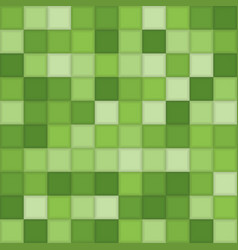 Color green mosaic tile square background vector