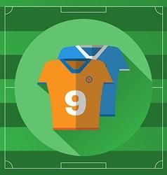 Soccer Team Sportswear icon vector image