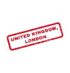 United kingdom london rubber stamp vector