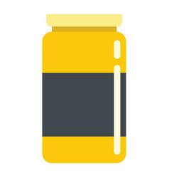 Medicine flat drug isolated on white background vector