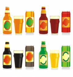 Beer brands vector