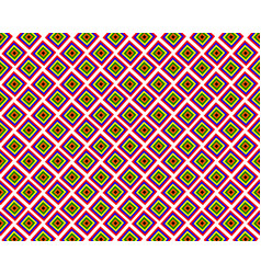 pattern with squares in a flat style vector image vector image